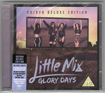 Little Mix Glory Days Deluxe Sealed Cd + Dvd Set New