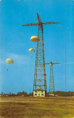 Bamberg South Carolina ? Parachute Training Tower Vintage Postcard K47000
