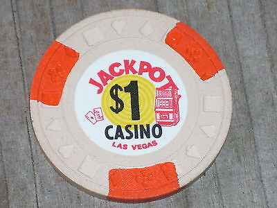 $1 3Rd Edt Chip From The Jackpot Casino  Las Vegas Nv