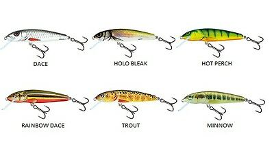 Brand New Salmo Minnow Lure - Complete Range Available
