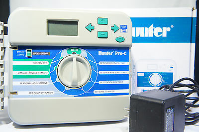 Hunter Sprinklers 526200 Pro-C and PCC Controller Front Panel EXCELLENT