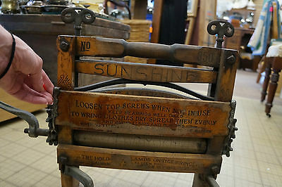 Antique Hibbard Clothing Wringer No. 350