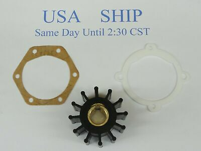 IMPELLER With Gaskets Replaces VOLVO 875575 FOR RAW WATER PUMP # 855578