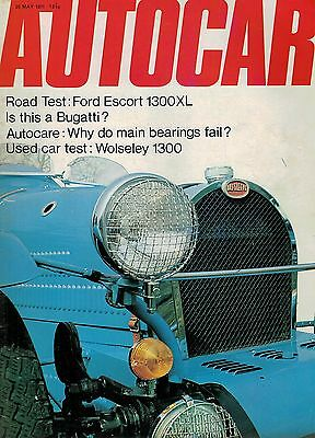 1971 20 MAY 55792 Autocar Magazine  ROAD TEST FORD ESCOURT 1300XL