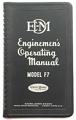 Enginemen's Operating Manual Model F7, 3rd Edition, 1949