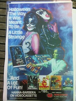 Kiss Meets the Phantom Promo Poster 11X17