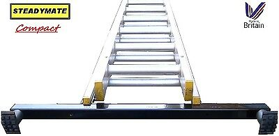 STEADYMATE Compact Ladder Stabiliser Safety Device Stabilizer rubber feet 75cm