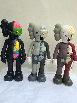 OriginalFake KAWS Dissected Companion 37cm PVC con caja with box