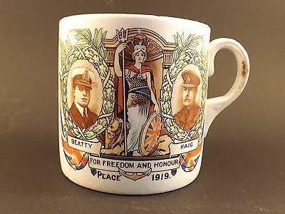 Momento Of The Great War ~ Grimwades Winton England ~ China Mug