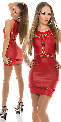 Top Women's Pencil Mini Dress Clubbing Sexy Ladies Party Blouse Size 6 8 10 12