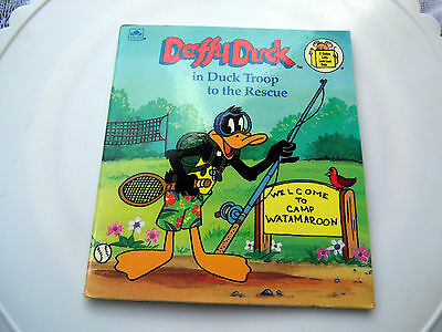 Daffy Duck in Duck Troop to the Rescue Book