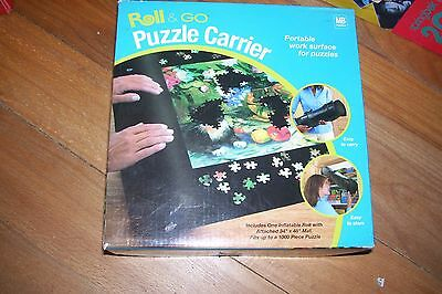 """Roll & Go Puzzle Carrier by Milton Bradley 34"""" x 48"""" Mat for up to 1000 Pieces"""