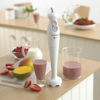 Kenwood True TriBlade Hand Stick Blender 450w HB680 - White