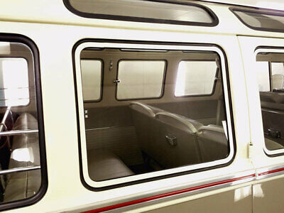Vw Type 2 Bus Kombi Microbus Deluxe Transporter Bare Metal Pop Out Window Frame
