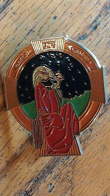 Grateful Dead Blues For Allah Cover Hat Pin New Free Shipping Jerry Garcia, Bob