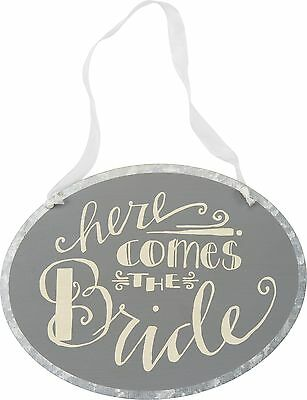 Primitives By Kathy Tin Sign Here Comes the Bride
