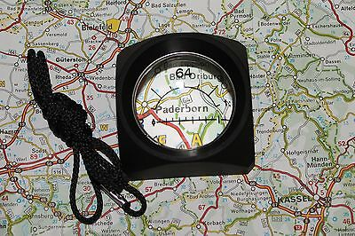 Glotac Illuminated Map Reader ( new) with Betalights Isotopes , Orienteering
