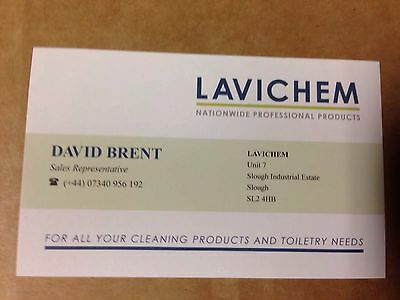David Brent Life On The Road Promo Business Card