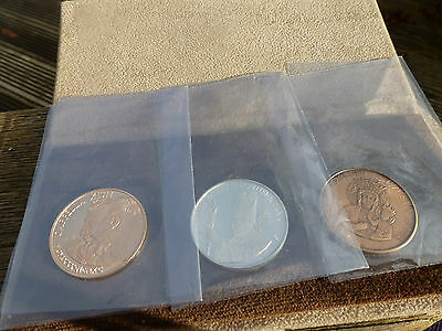 Pope John Paul II Vatican Coin set 18K Gold, Silver and Bronze with Provenance