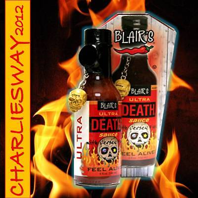 Blairs Ultra Death 150 Ml Salsa Piccante Made In Usa Sauce Hot Tex Mex Americana