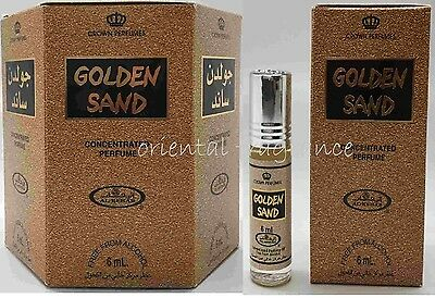 Golden Sand 6ml (box of 6) Al Rehab Perfume Oil/Attar/Ittar