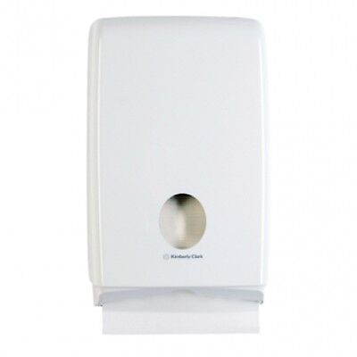 Kimberly Clark Kcp Aquarius 70240 Compact Towel Dispenser in White ABS Plastic