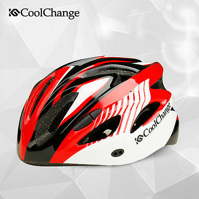 CoolChange Unisex Adult Bike Bicycle Cycling Outdoor Safety Helmet with Goggles