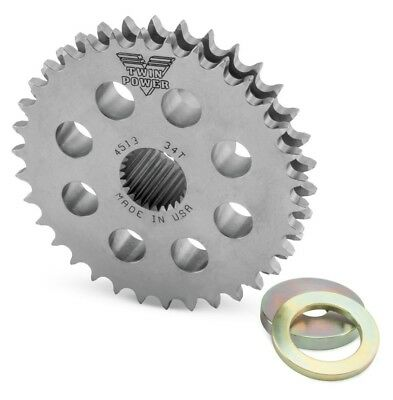 Twin Power 34-Tooth Compensator Eliminator Sprocket for Harley 07-up Big Twin