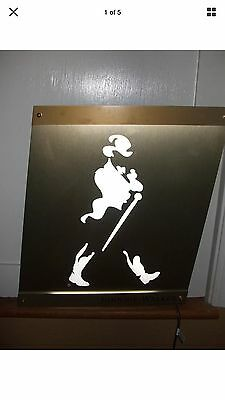 New! JOHNNIE WALKER LED BAR SIGN MAN CAVE LIGHT UP JOHNNY High Quality Johnny