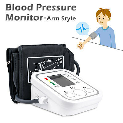 Automatic Digital Upper Arm Blood Pressure Monitor Meter Intelligent 99 Memory