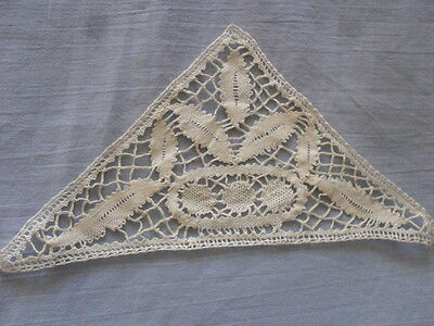 Beautiful Vintage Handmade Brussels Lace Doily