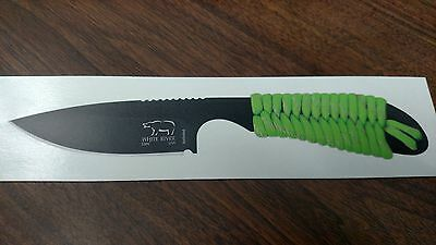 DECAL / STICKER ONLY- White River Backpacker S30V Black Survival Knife-Kydex OEM