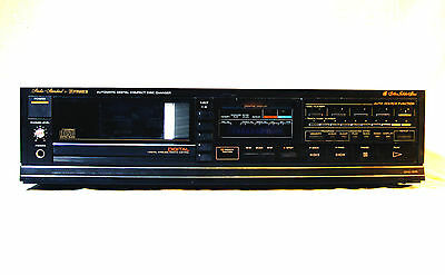 Vintage compact disc player - Fisher DAC-205 - 5 CD changer Made in Japan 1987