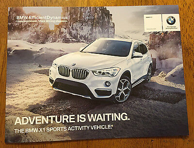 2015 BMW X1 Sports activity vehicle catalog sales brochure specification