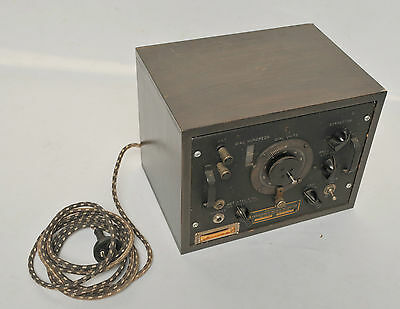 Vintage Signal Corps Frequency Meter Type BC-221-AH