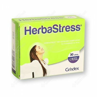 Herbastress ® N30 -5 Plant Extracts and B Vitamins Combination of Nervous System