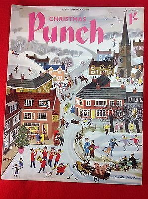 Vintage : PUNCH Magazine : 9th December 1959 : CHRISTMAS Edition