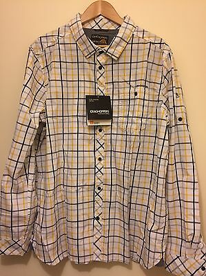 Craghoppers UV PROTECT tech Shirt Mens Size XL - New With Tags RRP£80