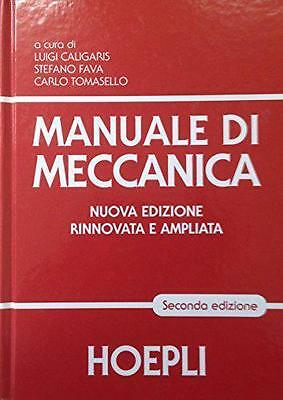 Manual Wind Of Meccanica Hoepli ( 2° Edition ) Year 2016 Cod.9788820366452