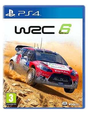 Wrc 6 (Ps4) Brand New Sealed Rally Championship Sony Playstation