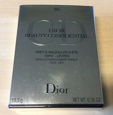 DIOR BEAUTY CONFIDENTIAL Pret à maquiller d'été Ready to wear summer make up
