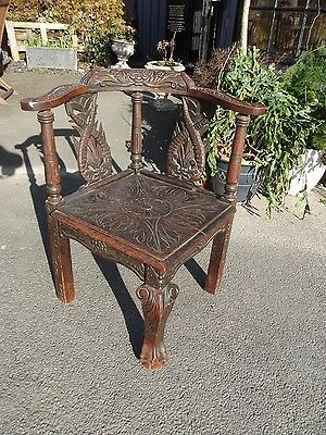 gorgeous antique corner chair