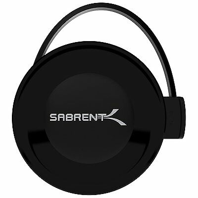 Sabrent Wifi Audio Receiver Supports DLNA and AirPlay for Home Stereo, Portable
