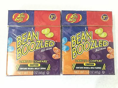 2 Packs Jelly Belly Bean Boozled 3rd Edition 45g Each Pack