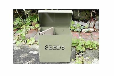 Brand New Seed Storage Tin - Ideal gardeners Gift by ATP Gifts