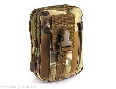 Mtp Camo Compact Edc 1050D Molle Pouch Bushcraft Survival Kits Camping