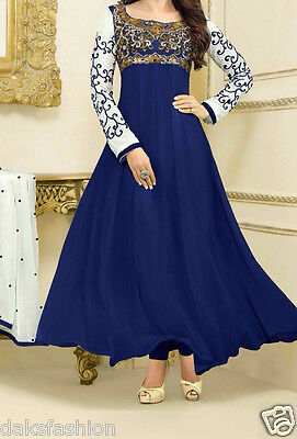Indian Designer Salwar Kameez Suit Anarkali Bollywood Ethnic Pakistani  US