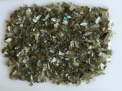 350Ct Scoop Natural Labradorite Rainbow Moonstone Mix Sawed Raw Rough Loose Gems