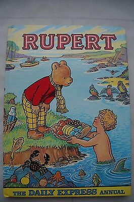 Vintage Rupert - The Daily Express Annual 1975 - 42 Years Old