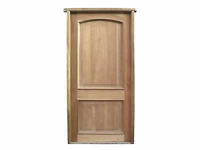 Antique Solid Single Door #D1207